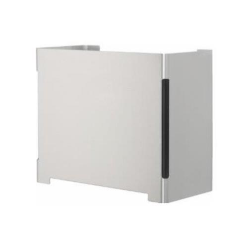 Cool Line brushed stainless steel waste bin