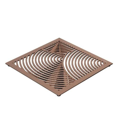 FROST Copper Round Pattern Table Trivet