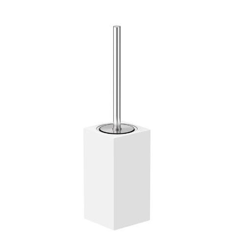 ARKITUR White Q Series Free Standing Toilet Brush Holder