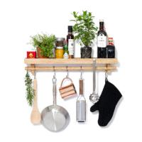 Utensils Rail Shelf