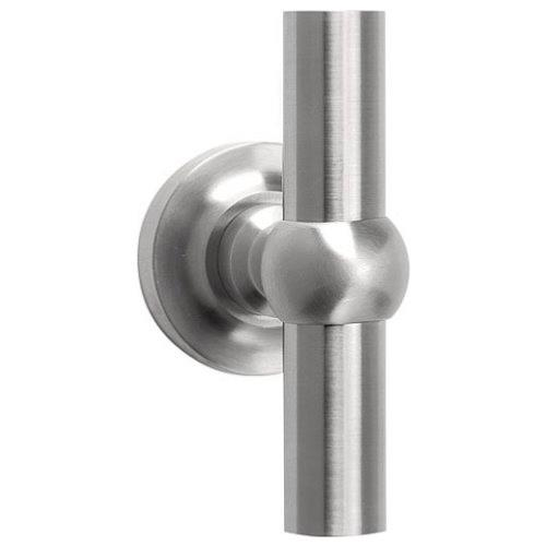 FV22V stainless steel fixed front door knob