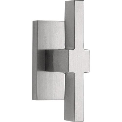 LSQVI-DK brushed stainless steel non-locking tilt and turn window handle