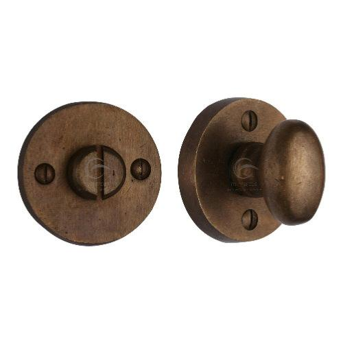 M.Marcus Solid Bronze Rustic RBL555 Round Turn and Release Set