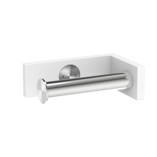 ARKITUR White Q Series Toilet Roll Holder