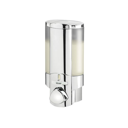 AVIVA Chrome Single Non-Locking Soap Shampoo Dispenser