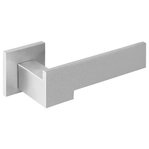 Ribbon BM103 Brushed Stainless Steel Lever Handle Set