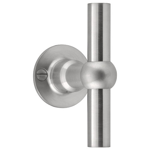FVT85V/40 stainless steel fixed knob on rose