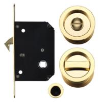 Fulton and Bray Sliding Door Lock Set