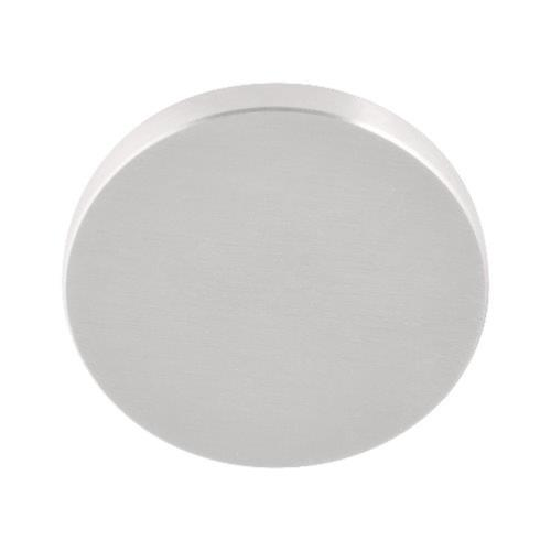Fold TBB50 brushed stainless steel blank escutcheon
