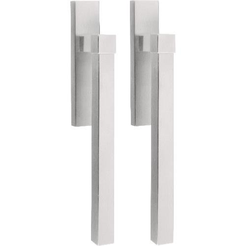 V230PA brushed stainless steel pair of lift up sliding door handles