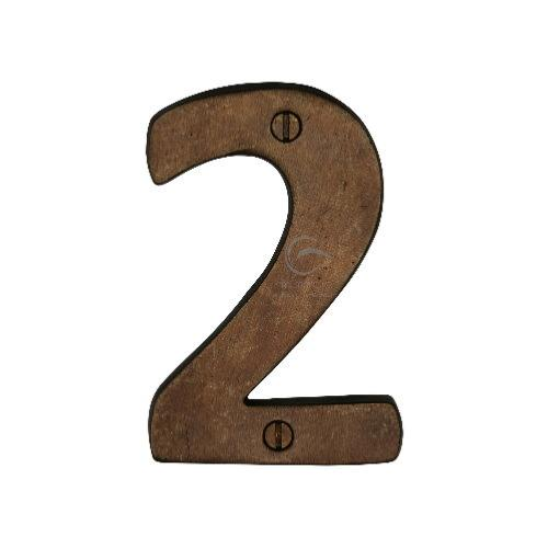 M.Marcus Solid Bronze Rustic Door Number 2