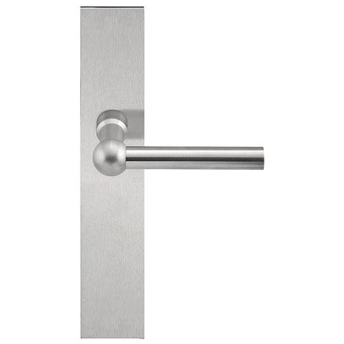 FVL110P236 stainless steel lever handle on plate