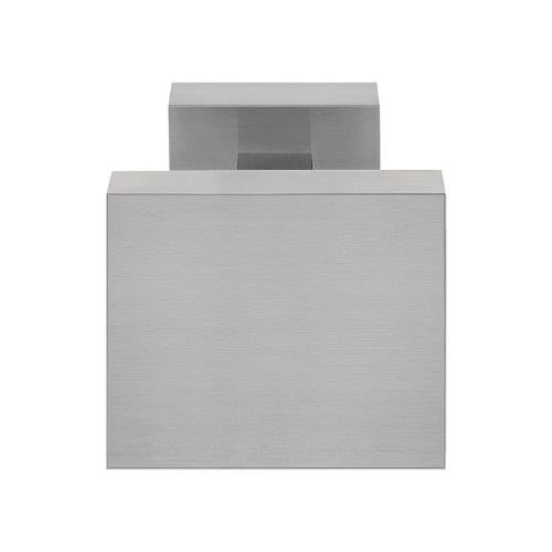 LSQ125V square stainless steel large centre front door pull