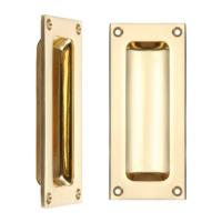 Fulton and Bray Rectangular Flush Pull