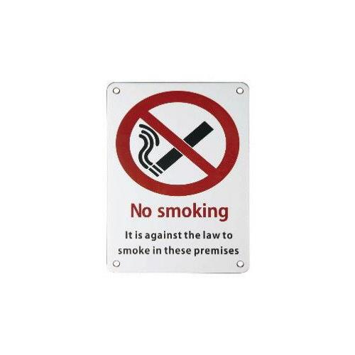 ARKITUR Stainless steel No Smoking Sign